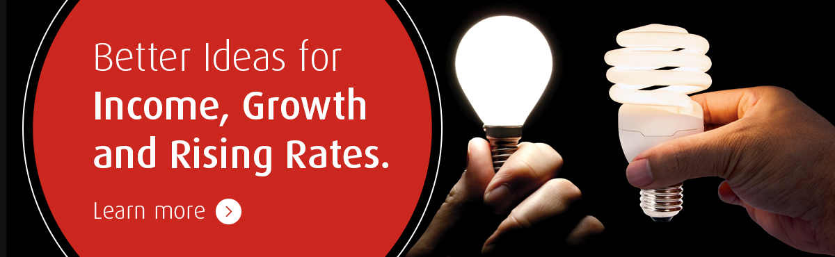 Better Ideas for Income, Growth and Rising Rates.
