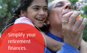 Simplify your retirement finances.