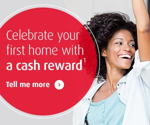 Celebrate your first home with a cash reward. Tell me more.