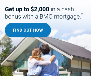 Get a $1,000 cash bonus with a BMO mortgage*