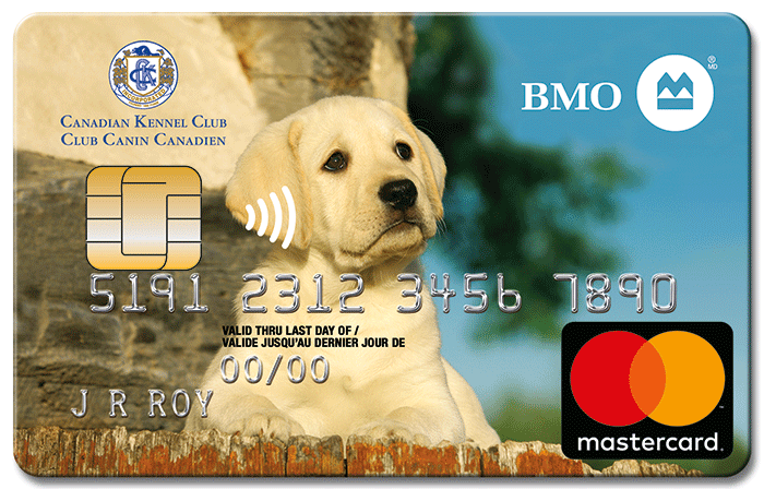 BMO Canadian Kennel Club CashBack Mastercard