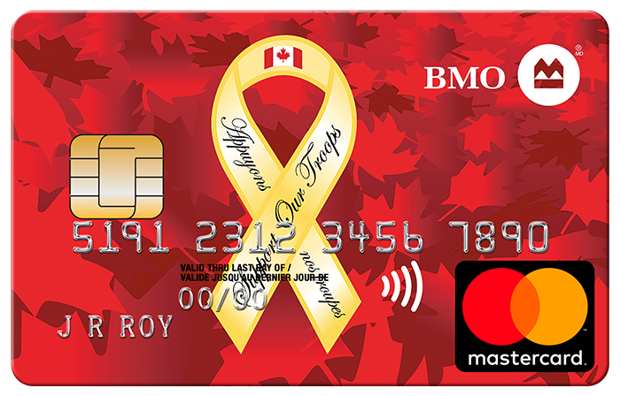 BMO Support Our Troops Mastercard