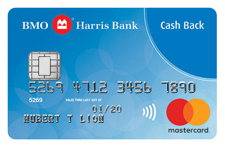 BMO Harris Bank Cash Back Mastercard<sup>®</sup>