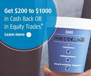 Investorline - Get $200 to $1000 in Cash Back OR in Equity Trades.