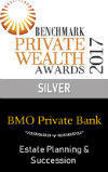 Award for ESTATE PLANNING & SUCCESSION 2017