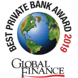 Award for BEST PRIVATE BANK, CANADA 2019