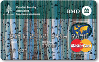 MasterCard  - Canadian Forestry card