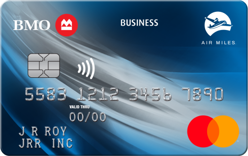 Apply online for business credit cards bmo bmo air miles no fee business mastercard reheart Image collections