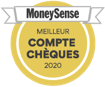 money sense logo chequing accounts badge