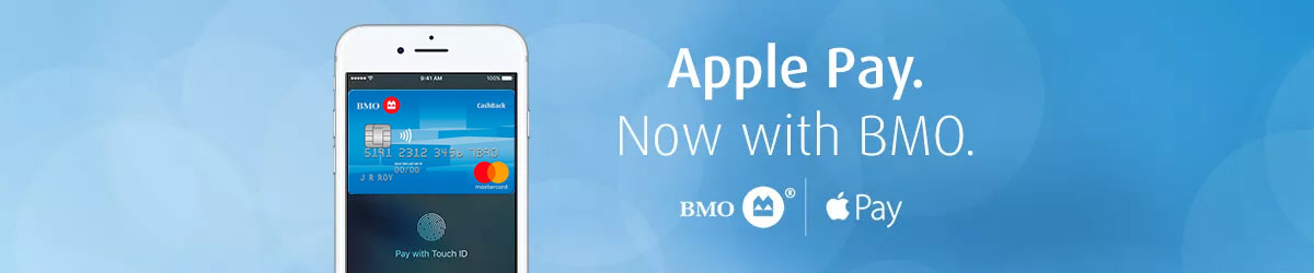 Apple Pay | Now In Canada | BMO