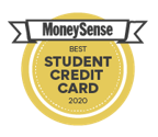 Money Sense best student credit card 2020