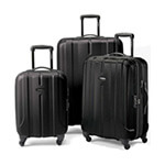 3-piece hard side spinner luggage set