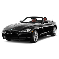 1 week convertible car rental