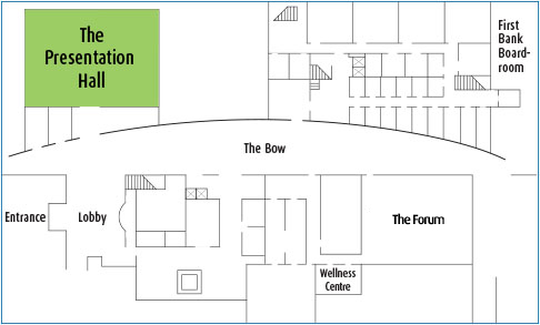 Floor plan of a banking hall thefloors co for Floor plans presentation