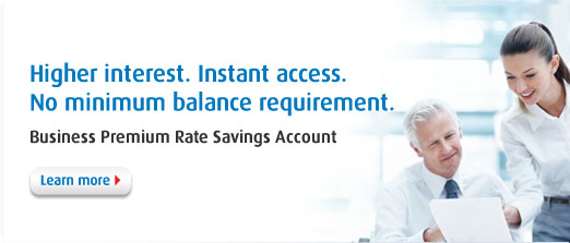 Business Premium Rate Savings Account