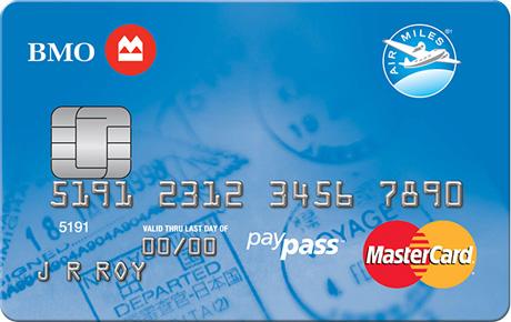BMO® AIR MILES®† MasterCard®*