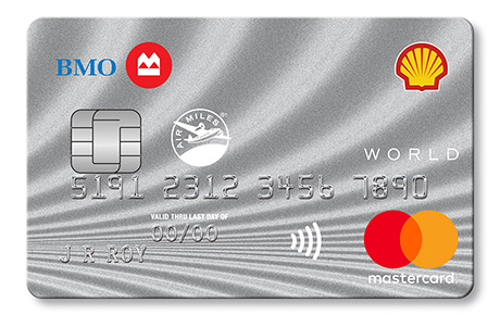 Shell Air Miles World Mastercard