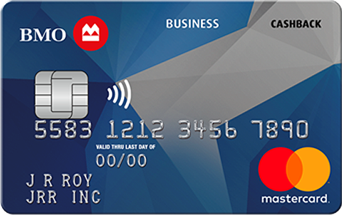 Bmo Cashback Mastercard For Business