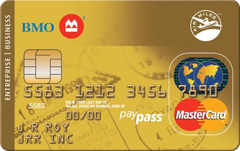 BMO Gold AIR MILES MasterCard for Business
