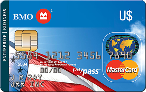 BMO U.S. Dollar MasterCard for Business