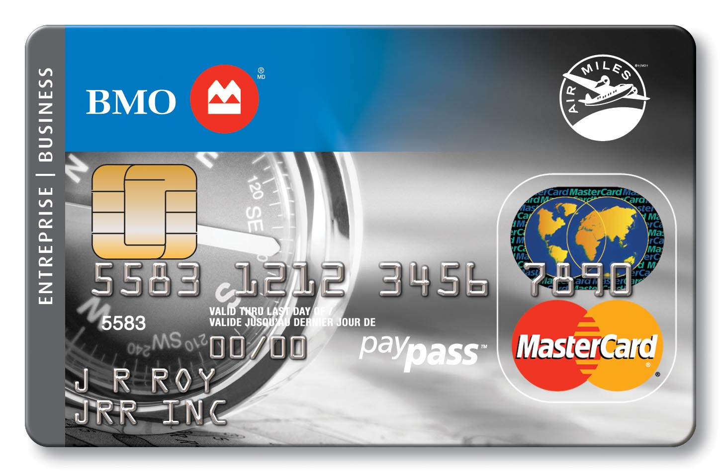 Business credit cards bmo bank of montreal air miles mastercard learn more magicingreecefo Images