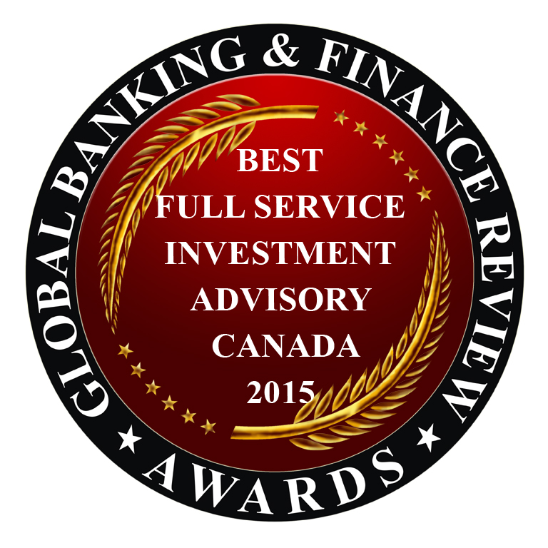 Best Full-Service Investment Advisory in Canada 2014 and 2015*