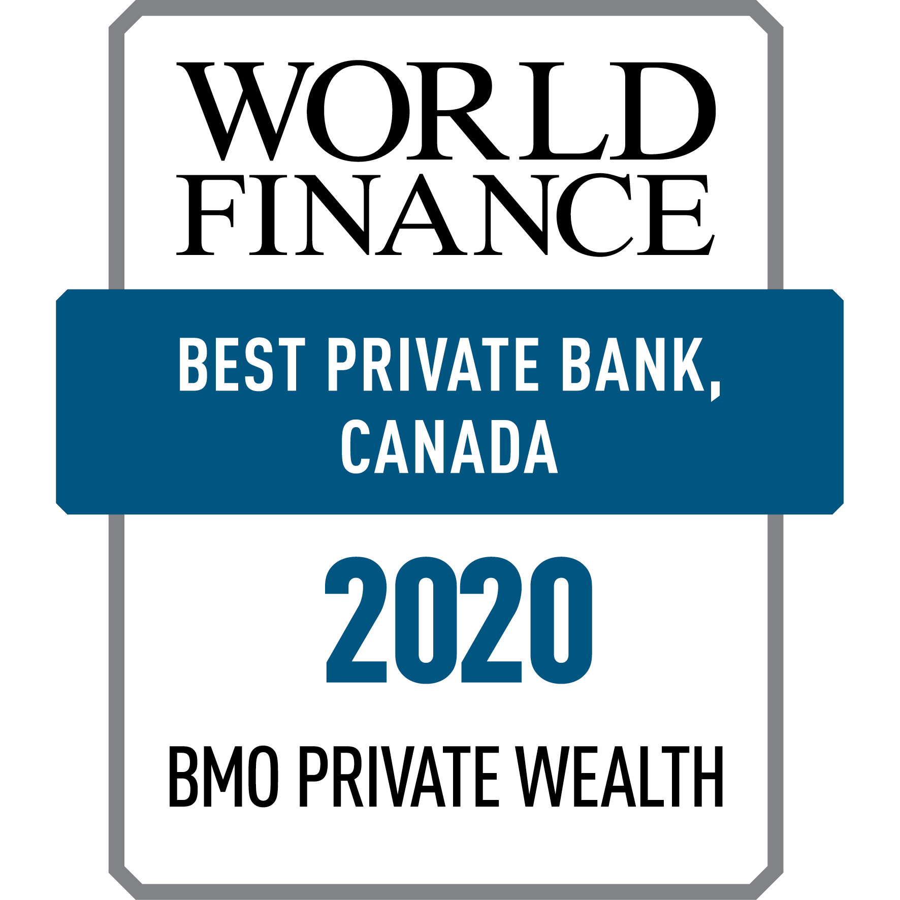 Best Private Banking Canada 2017 Award