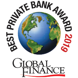 Best Private Bank for North America, 2019