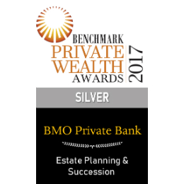 Private Wealth Award – Estate Planning & Succession 2017