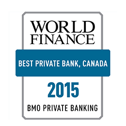 Best Private Banking Canada 2015 Award